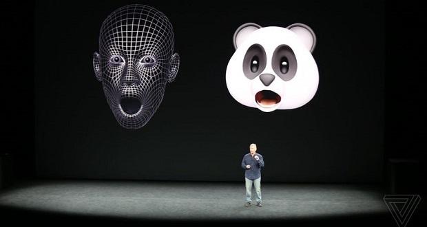 اپل در آیفون ایکس خود ویژگی جالب دیگری را نیز معرفی کرده که انیموجی (Animoji) نامیده میشود. انیموجی در واقع همان ایموجی های متحرکی هستند که با استفاده از حرکات صورت شما، شکلهای مختلفی را به نمایش میگذارند