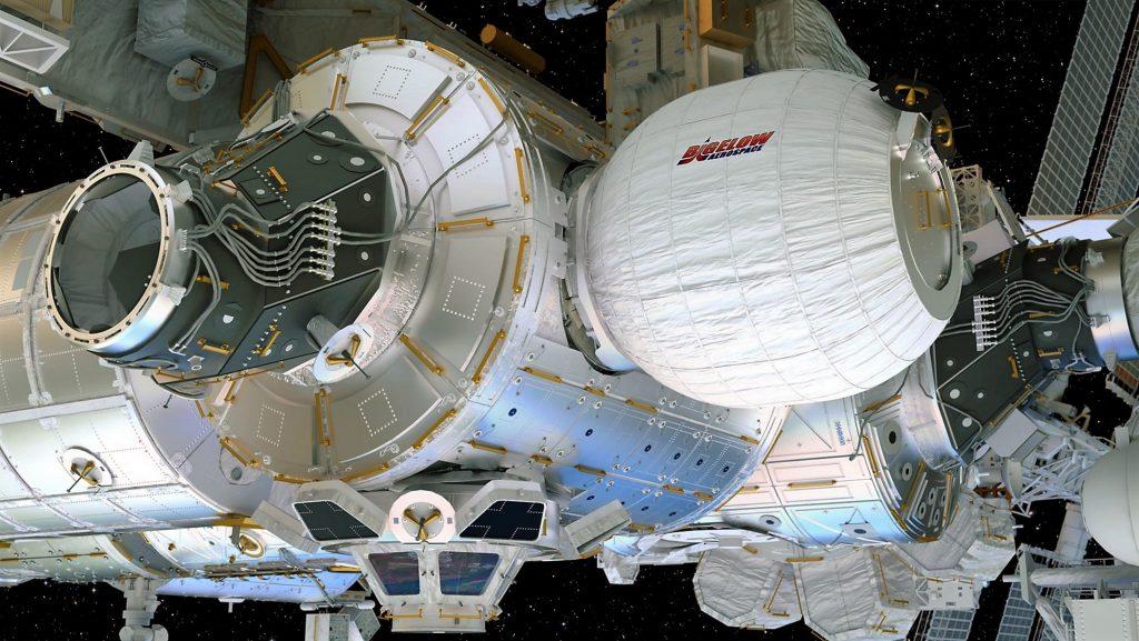 زیستگاه فضایی Beam