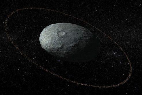 شناسایی حلقهای در اطراف یک سیاره کوتوله در منظومه شمسی