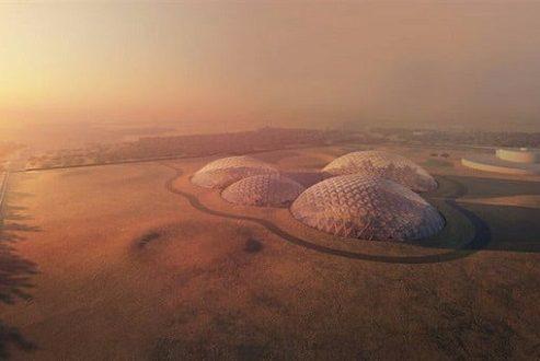 ساخته شدن شهر عظیم مریخی در دبی برای تمرین زندگی در سیاره سرخ!