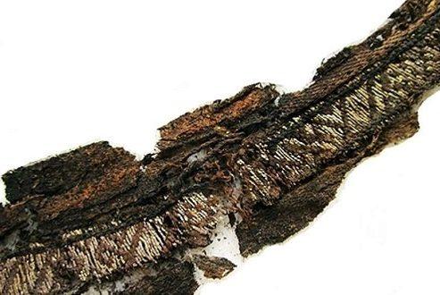 """کلمه """"الله"""" بر روی پارچههای بجا مانده از عصر وایکینگ ها شناسایی شد"""