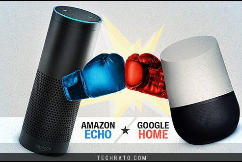 مقایسه گوگل هوم و آمازون اکو ، دو اسپیکر هوشمند موجود در بازارهای جهانی