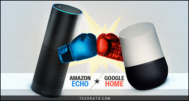 مقایسه گوگل هوم و آمازون اکو