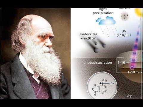 چارلز داروین در سال 1871، فکر می کرد که حیات ابتدا ممکن است که در یک «حوضچه گرم» شکل گرفته باشد. او در واقع در نامه ای اشاره کرده است که حیات ممکن است در حوضچه گرم کوچکی که حاوی آمونیاک، فسفر، گرما و نور و سایر مواد پیش ساز زیست شناختی بوده، پدید آمده باشد حیات از شهاب سنگ ها به زمین آورده شده است حیات از شهاب سنگ ها به زمین آورده شده است hqdefault
