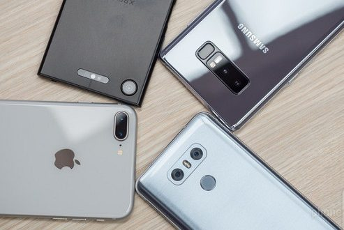 مقایسه دوربین بهترین گوشی های هوشمند : آیفون ۸ پلاس، گلکسی نوت ۸، ال جی جی ۶، اکسپریا ایکس زد ۱