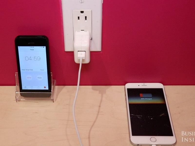 7. باتری آیفون 6 اس با همان سرعت گوشیهای آیفون 8 و 10 شارژ میشود