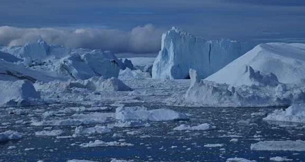 کوه یخی عظیم دیگری از قطب جنوب جدا شد؛ زمین در خطر گرمایش!