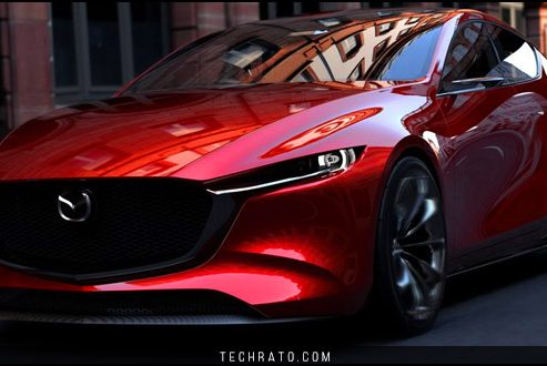 خودروی مفهومی مزدا کای (Kai) نسل جدید مزدا ۳ هاچ بک