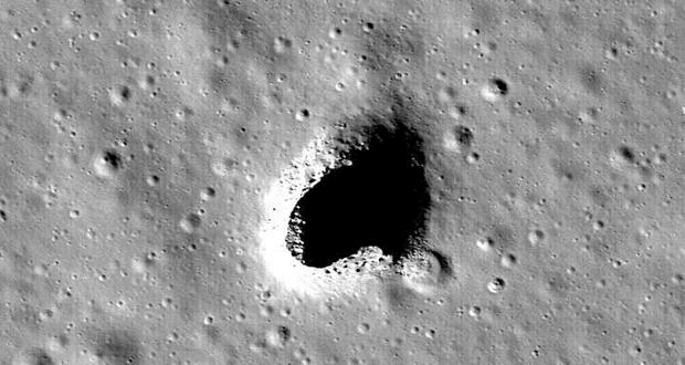 کشف غاری ۱۰۰ متری در ماه؛ محلی مناسب برای احداث پایگاه فضایی