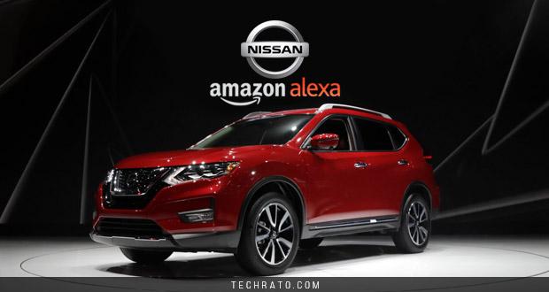 روشن و خاموش کردن خودرو قابلیت جدید دستیار صوتی الکسا و نیسان