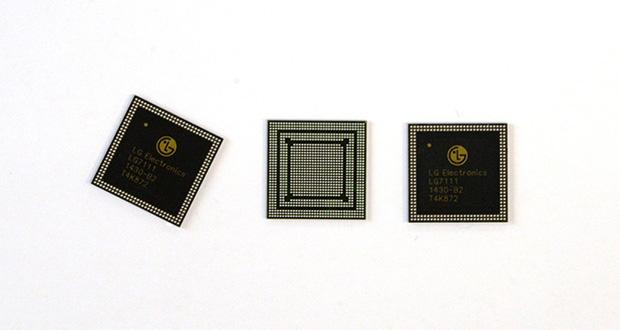 ال جی با تولید چیپست های خود در بازار پردازنده های موبایل رقابت خواهد کرد