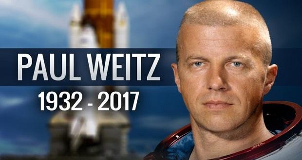 پائول وایتز فضانورد کهکنه کار ماموریت های چلنجر و اسکای لب درگذشت
