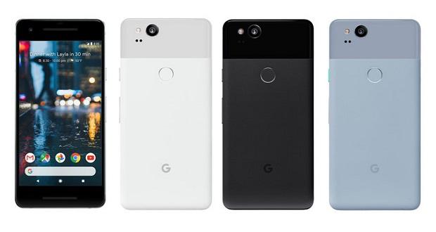 گوگل پیکسل 2 رسما معرفی شد؛ حاشیههای نسبتا زیاد در اطراف نمایشگر خودنمایی میکند