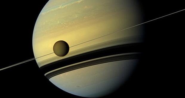 تایید وجود توفان های شدید متان در قمر تیتان سیاره زحل