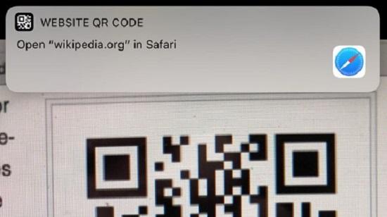اسکن کردن کدهای QR