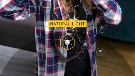 تغییر میزان نور عکاسی در حالت پرتره