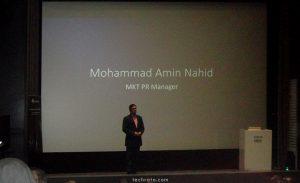 مهندس محمد امین ناهید، مدیر روابط عمومی و مارکتینگ هوآوی در ایران