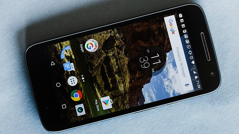 موتو جی 4 پلی با نمایشگر 720p