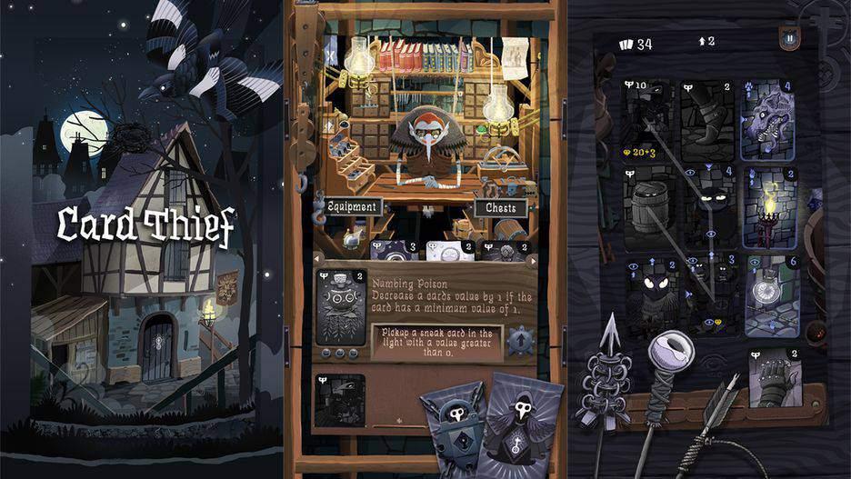 Card Thief یکی از محبوب ترین بازی های آیفون