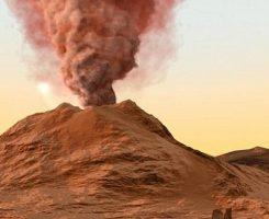 دانشمندان به دنبال تاریخچه اسرارآمیز آتشفشان های مریخ هستند