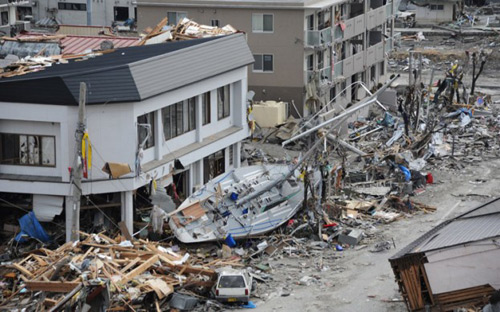 4. زلزله نزدیک سواحل شرقی هفوشو در ژاپن