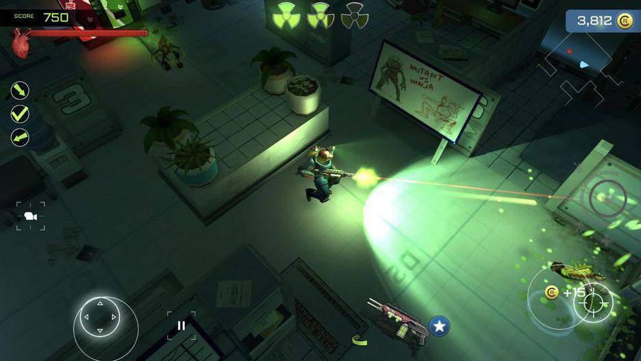Xenowerk یکی از بهرتین بازی های آیفون
