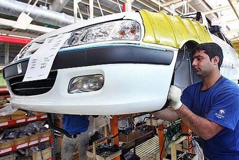 بررسی میزان تولید روزانه خودرو در ایران