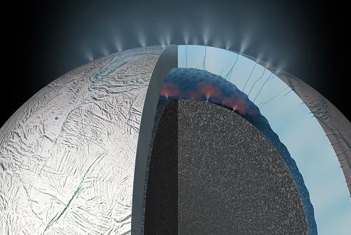 قمر انسلادوس اقیانوسهای درونی وسیعی دارد