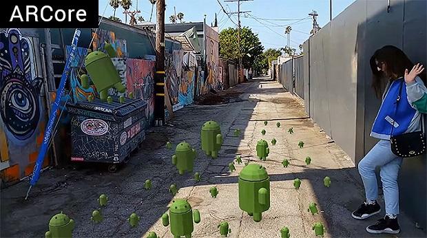 گوگل: تا سال ۲۰۱۸ صدها میلیون گوشی اندرویدی به فناوری واقعیت افزوده مجهز خواهند شد