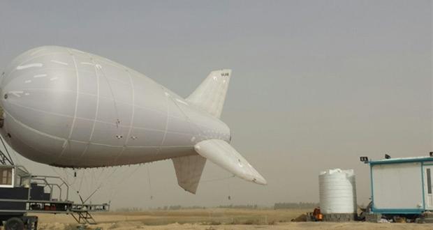 راه اندازی اینترنت بالنی در مرز مهران برای زائران اربعین