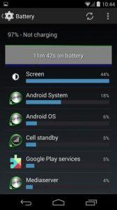 استفاده بیشتر از شارژ باتری موبایل