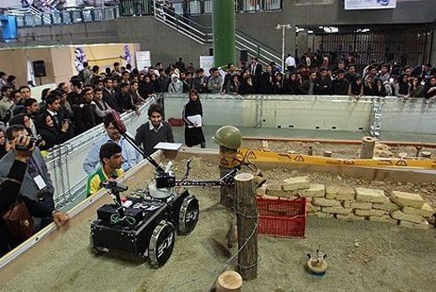 فرصت پیش ثبت نام مسابقات رباتیک جام امیرکبیر تا آخر آذرماه