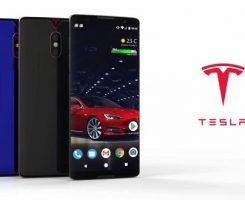 رندرهایی از گوشی تسلا فون (Tesla Phone) منتشر شد