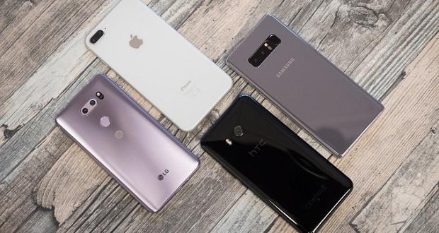 مقایسه دوربین بهترین گوشی های 2017 : ال جی وی 30، آیفون 8 پلاس، گلکسی نوت 8 و اچ تی سی یو 11