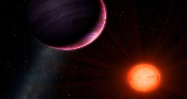 اخترشناسان از یک کشف عجیب خبر دارند؛ کشف غول گازی عظیم در اطراف یک ستاره کوچک!