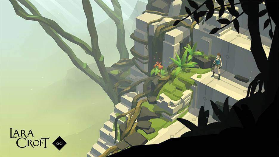 Lara Croft Go یکی از بهترین بازی های آیفون