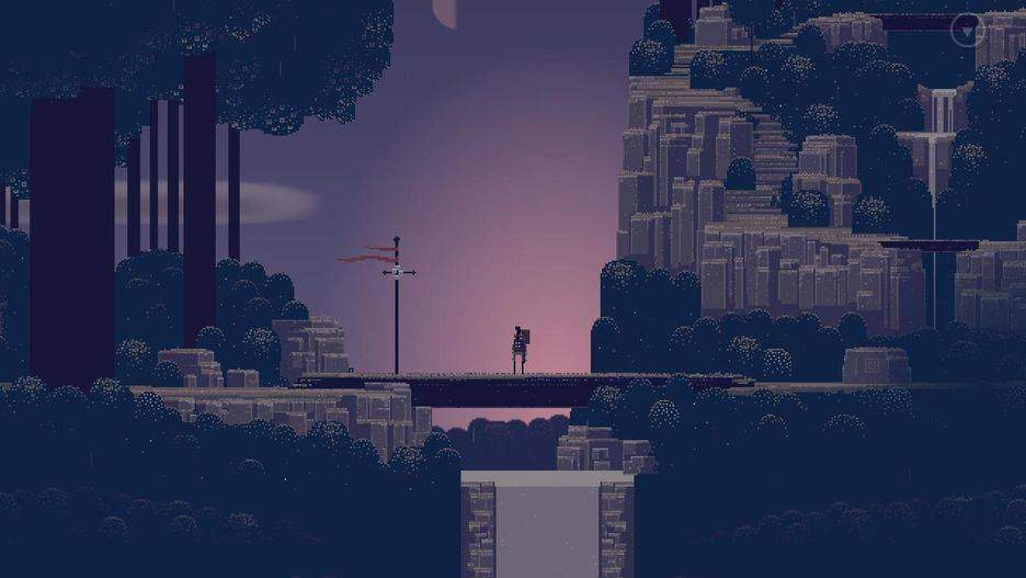 Superbrothers: Sword & Sworcery EP بازی موبایل
