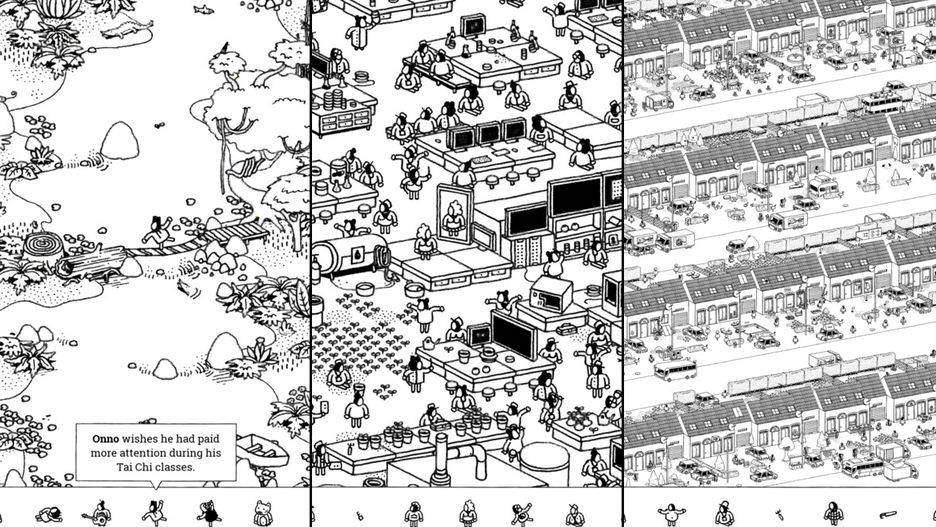 Hidden Folks یکی از برترین بازی های آیفون و آیپد در سال 2017