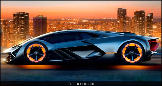 دانلود والپیپر لامبورگینی ترزو میلنیو (Lamborghini Terzo Millenio) با کیفیت HD