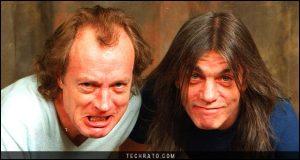 مالکوم یانگ (Malcom Young) موسیقیدان گروه AC/DC