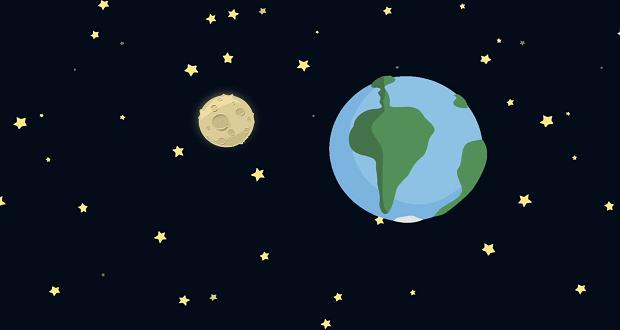 همه چیز در مورد تنها قمر زمین ؛ اندازه ماه چقدر است؟ (قسمت دوم)