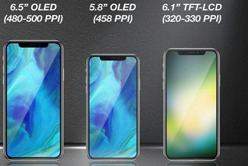 آیفون ۲۰۱۸ به دو مدل اولد و یک مدل LCD مجهز خواهد بود