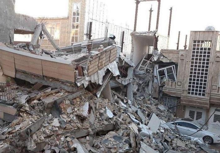 2. زلزله 1396 کرمانشاه و غرب ایران