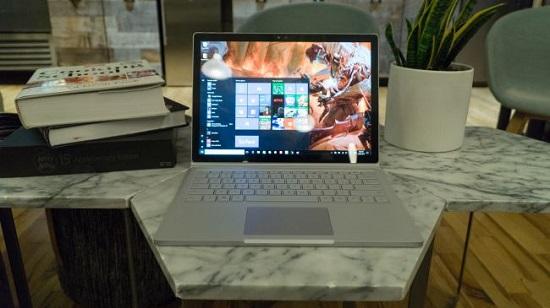 مایکروسافت سرفیس بوک آی 7