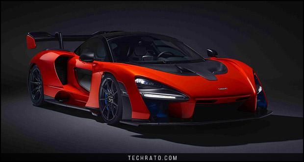 مک لارن سنا (McLaren Senna) ابرخودرویی جدید برای سال 2019 میلادی