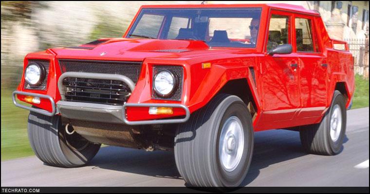 لامبو رامبو (لامبورگینی LM) مدل سال 1986 میلادی