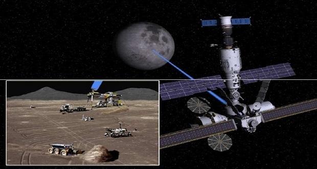 همکاری ژاپن و آمریکا در ساخت یک ایستگاه فضایی که به دور ماه خواهد گشت