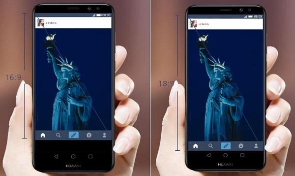 صفحه نمایش فول ویو (FullView) در گوشی هواوی میت 10 لایت