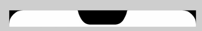 در بالای نمایشگر پی 11 شکافی وجود دارد، درست شبیه به ناچ (بریدگی) صفحه نمایش آیفون X