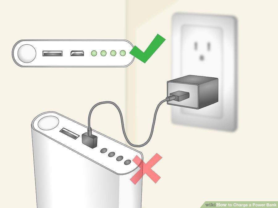 2. از شارژ کردن بیش از حد پاور بانک خودداری کنید. پاوربانکها را برای مدت طولانی در حال شارژ رها نکنید. اگر این شارژرهای همراه را چند ساعت متوالی شارژ کنید، میتواند باعث کاهش عمر آن شود، بنابراین آنها را تنها در موقع نیاز تا هنگامی که چراغهای آن روشن شوند، شارژ کنید.